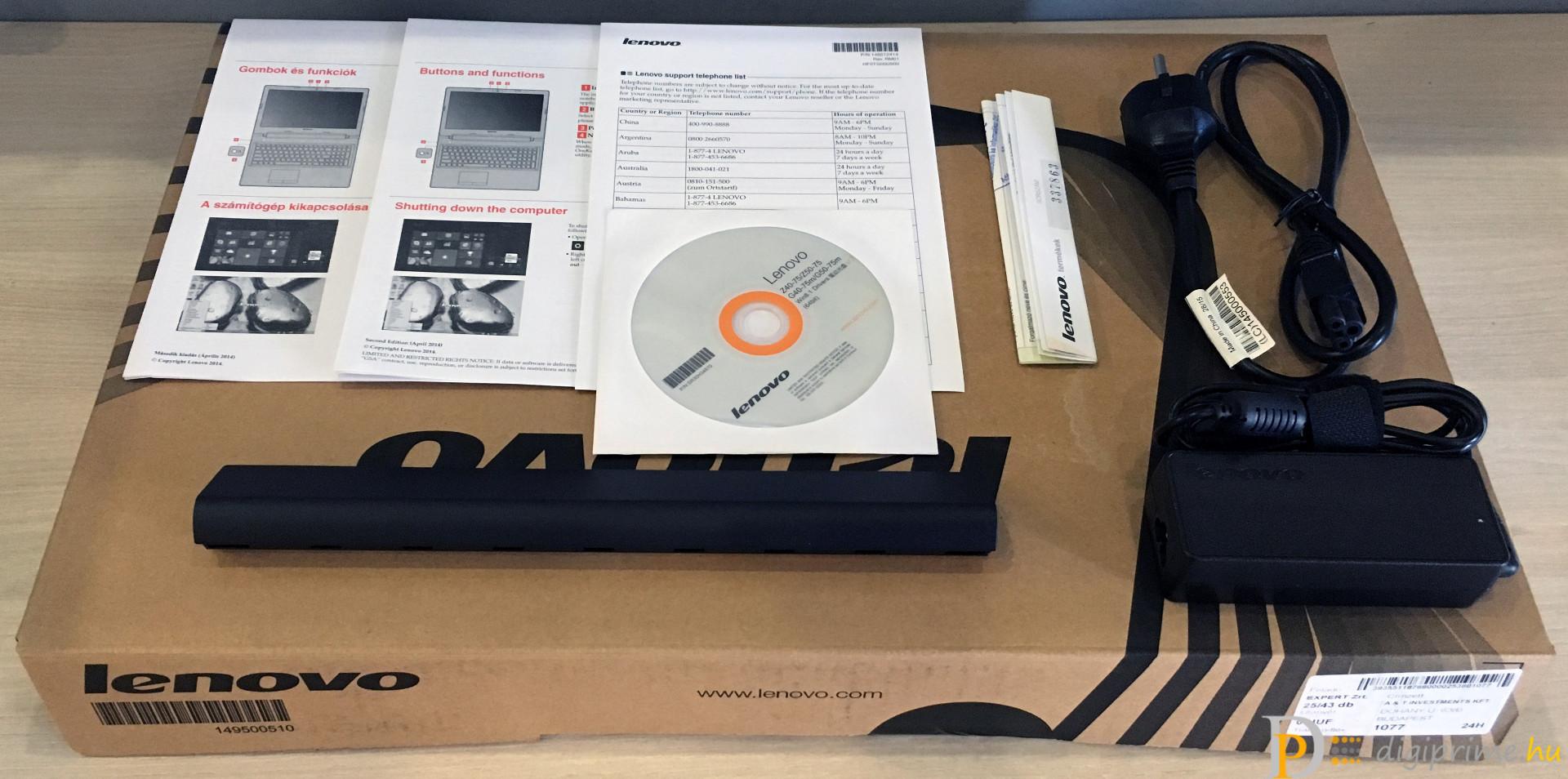 LENOVO IdeaPad Z50-75 - Multimédiás társ a mindennapokra 280e570199