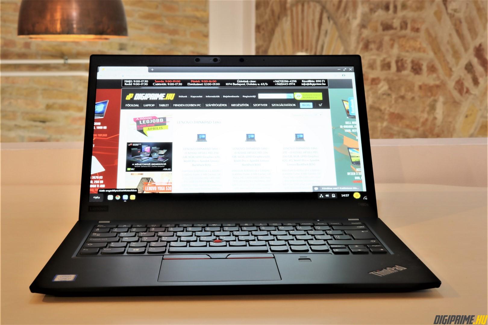 LENOVO THINKPAD T480 laptop akció | DIGIPRIME laptop bolt és webáruház