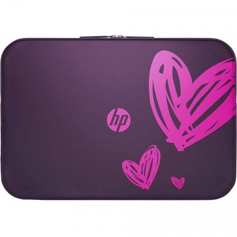 HP 15.6 Hearts Valentine Sleeve lila 949227a2c2