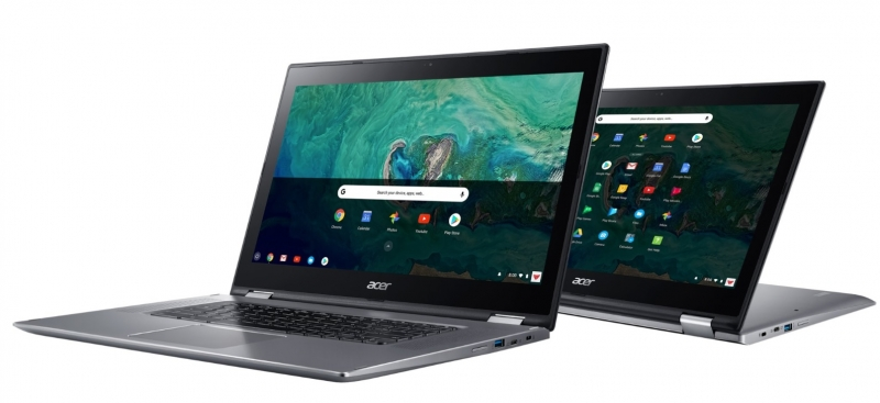 ACER CHROMEBOOK SPIN 15 PURE SILVER - digiprime.hu
